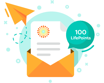 COLLECTING LIFEPOINTS FOR COMPLETING ACTIVITIES