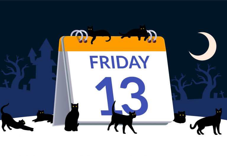 Yikes! It's Friday the 13th!